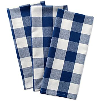 Charmant DII Cotton Buffalo Check Plaid Dish Towels, (20x30, Set Of 3) Monogrammable