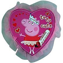 Peppa Pig Valentine's Day Princess Tutu Heart Box with Gummy Candy, 3.01 oz