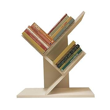 OIURV - Estantería para Libros, Escritorio, Soporte para CD, revistero y archivador, Color Blanco: Amazon.es: Juguetes y juegos