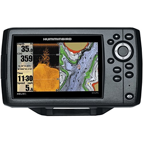 Fish Finder with Down-Imaging and GPS