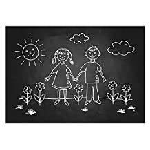 Ohuhu Wall Sticker Chalkboard Contact Paper Blackboard Sticker