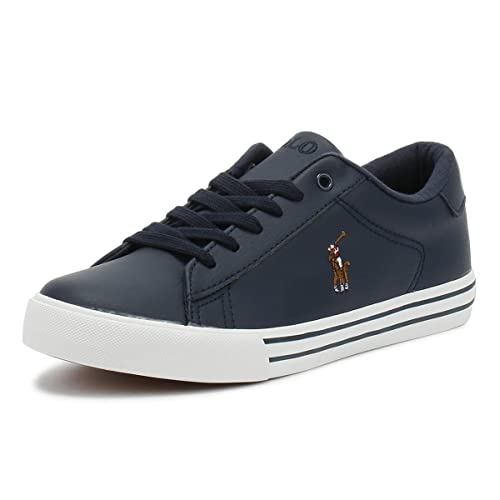 7649b3cdd266 Ralph Lauren Junior Navy Easten Trainers-UK 4.5  Amazon.co.uk  Shoes ...