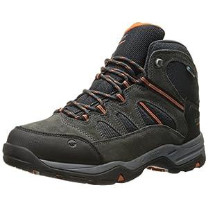 Hi-Tec Men's Bandera II Mid Waterproof Hiking Boot, Charcoal/Graphite/Cobalight, 9.5 M US