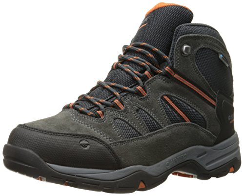 Hi-Tec Men's Bandera II Mid Waterproof Hiking Boot, Charcoal/Graphite/Cobalight, 11 M US