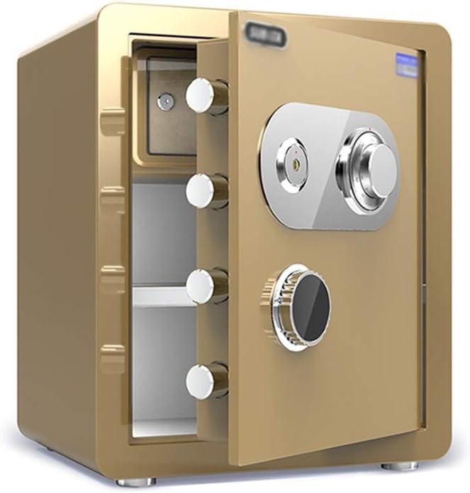 ZCF Caja Fuerte Mec/ánica de Seguridad Cajas Fuertes Resistentes Al Fuego Fuerte para Uso Dom/éstico Incluye Teclas Hotel de La Oficina Joyer/ía Efectivo Uso Gabinete de Almacenamiento