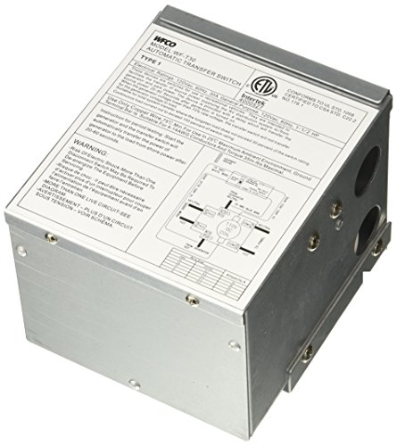 WFCO T30 30 Amp Transfer Switch (Transfer Switch Amp 30)