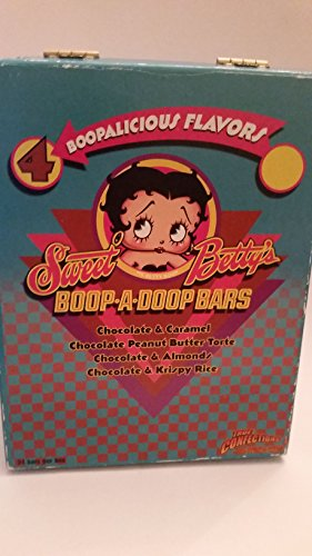 Betty Boop Collector's Box: Sweet Betty's Boop a Doop Bars Collector's box: Preowned little fading on edges: Empty box