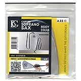 BG A33C Curved Soprano Saxophone Body Swab