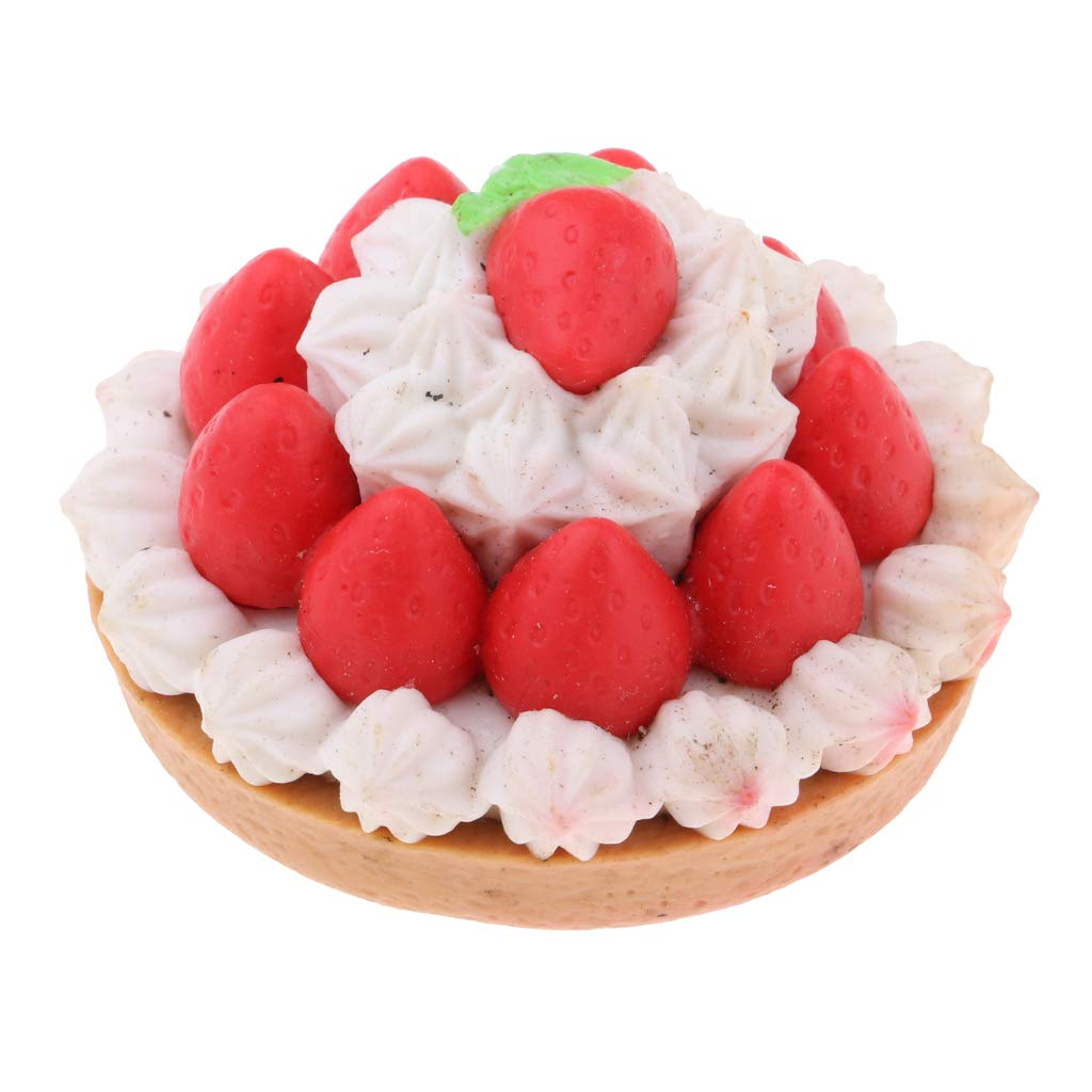 Food Resin Dessert Cakes Model 1//6 Dollhouse Miniature for Mellchan Doll