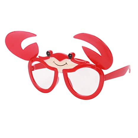 712ca7dc6b Homyl Assorted Novelty Sunglasses Funny Party Glasses Toy Party Tricks -  Animal Crabs