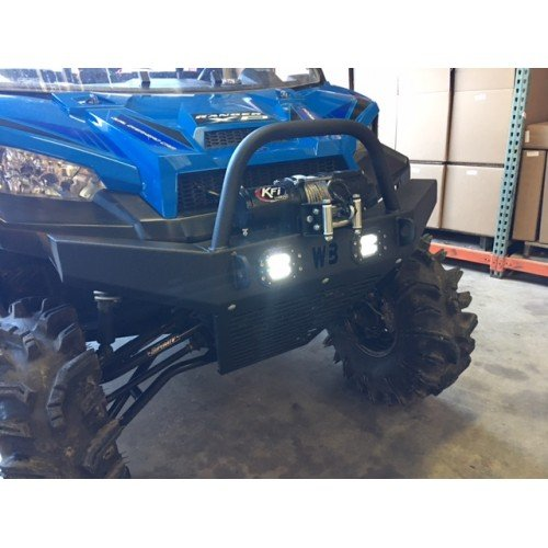 Polaris Ranger Full Size 900//1000 Front Bumper w//LEDS