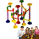Image of Dazzling Toys Marble Race Deluxe Assemble Yourself Game 58 pcs
