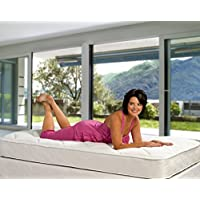 Wolf Comfort Plus Quilt 7 Innerspring Mattress filled with Wolfs cotton blend,  Twin, Bed in a Box, Made in the USA