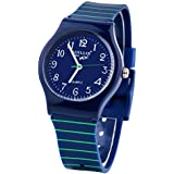 RUIWATCHWORLD Sunshine Boys Girls Watches,Teenagers Kids Student Time Wrist watch Soft Silicone Band Mini