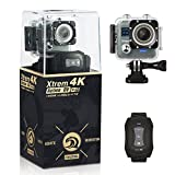 NeuTab Xtrem 4K Action Camera, Full HD Wifi Sports Camera with 4K/24FS 2K/30FPS 1080P/60FPS Video, 16MP Photo,2 Inch LCD Display,100ft Waterproof Case and 170 Wide-Angle Lens