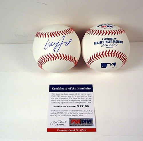 Billy Joel The Piano Man Signed Autograph MLB Baseball PSA/DNA COA