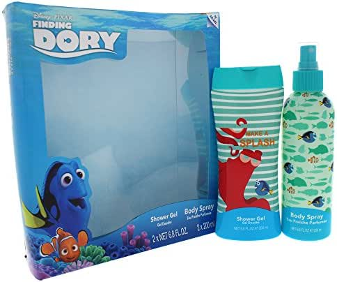 Disney Finding Dory 2 Piece Gift Set with Body Wash and Shower Gel for Kids