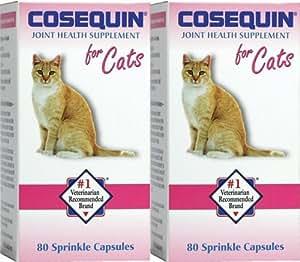 cosequin feline for cats 80 ct x 2 pk pet glucosamine supplements pet supplies. Black Bedroom Furniture Sets. Home Design Ideas