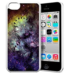MEIMEI Africa Ancient Proverb HAKUNA MATATA Color Accelerating Universe Star Design Pattern HD Durable Hard Plastic Case Cover for ipod touch 5LINMM58281