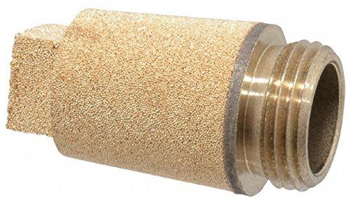 3/8 BSPP, 37mm OAL, Muffler 175 Max psi, 10.5 CFM, 108 Decibel Rating, Bronze by Legris