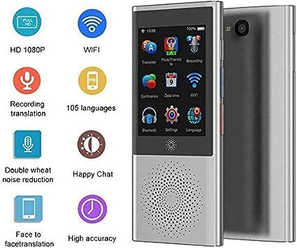 Zweiwege-Echtzeit mit 3.0-Zoll-Touchscreen,-4G//WiFi//BT//Offline//Sofort/übersetzung Pocket-Sprach- Text- Aufnahme- 105 Sprachen Zweiwege-Sprach/übersetzung,Sprach/übersetzer Foto/übersetzer