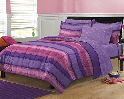 my room tie dye ultra soft microfiber comforter sheet set queen
