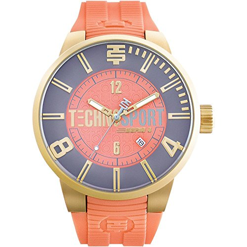 technosport-womans-chrono-watch-gold-salmon