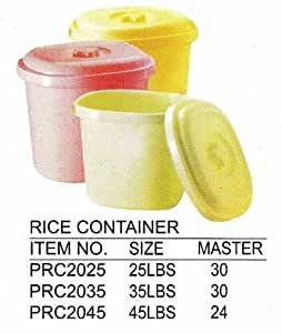 Amazon.com: 25 lbs Rice Container, Case of 30: Kitchen