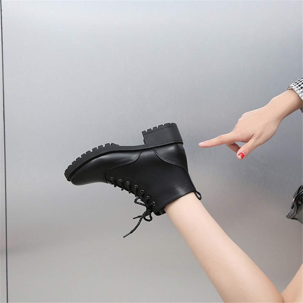 SHANGWU Damen Stiefeletten Winterstiefel Freizeitspitze Kurze Stiefel 1460 Anti-Rutsch-Plus-Samt, Klassische Martin Stiefel Wasserdichtes Anti-Rutsch-Plus-Samt, 1460 um warme Sport-Kurzstiefel-Größe zu halten db79c1