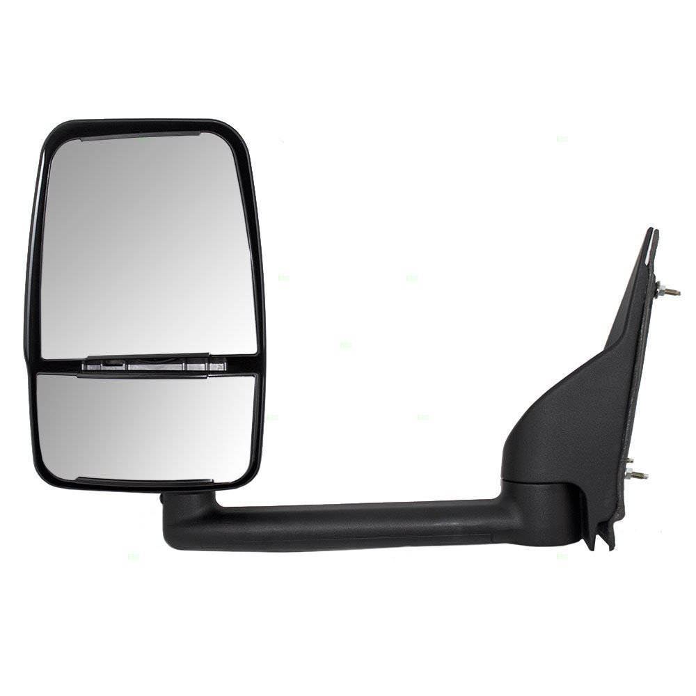 Drivers Manual Side View Paddle Type Dual Glass Mirror Replacement for Chevrolet GMC Van 25894029