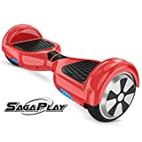 SagaPlay F1 Self Balance Board Motorized 2 Wheel Self Balancing Scooter [CSA/UL2272 Certified] All-Terrain Tires Personal Hover...