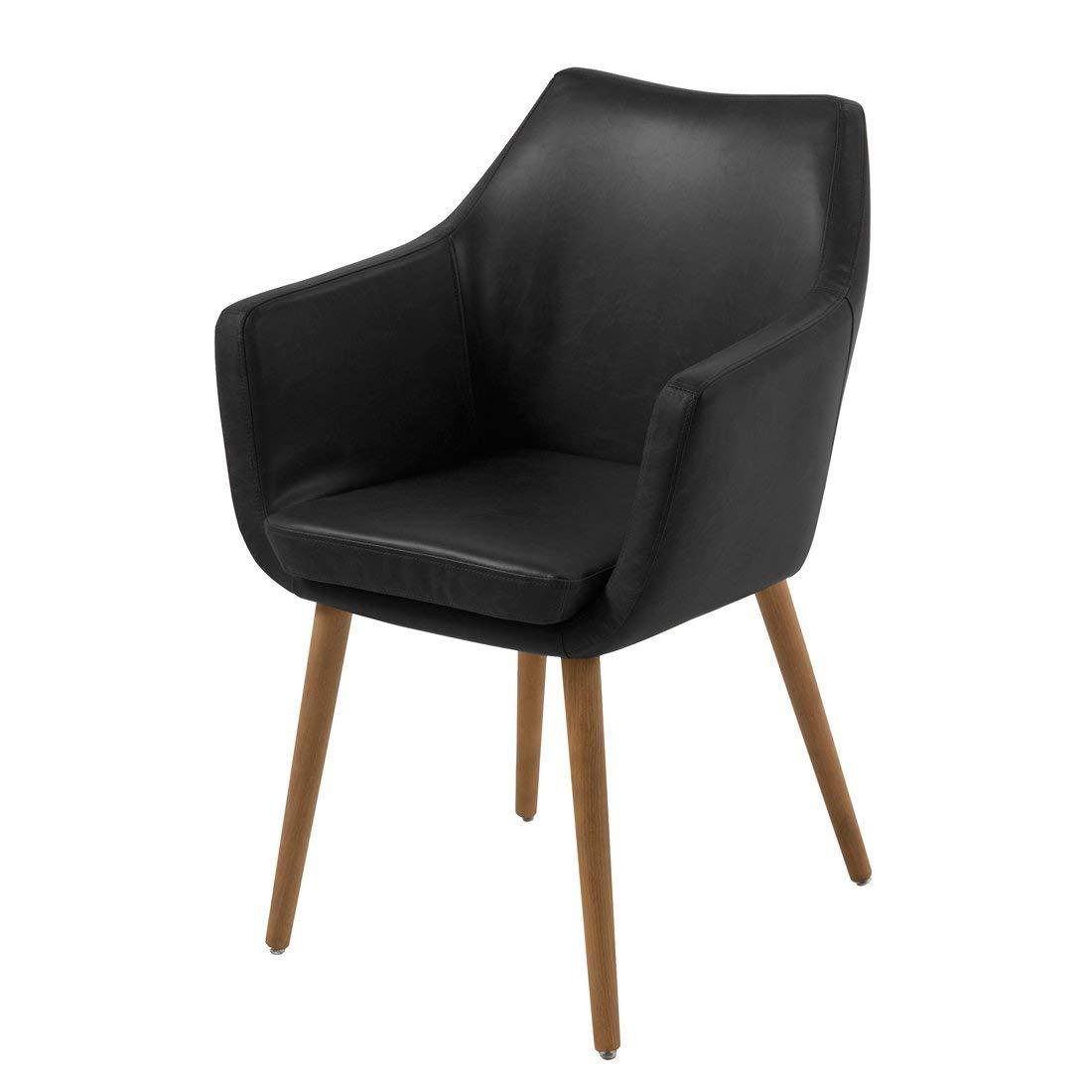 AC Design Furniture Lore - Silla con brazos (revestimiento de piel ...