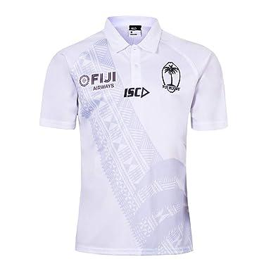 Fiyi 2019 RWC Home/Away - Polo de Rugby para Hombre (Talla S-3XL ...