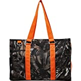 N Gil All Purpose Organizer Medium Utility Tote Bag 3 (Camo Orange)