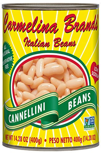 - Carmelina Brands Italian Cannellini Beans (White Beans), 14.28 ounce (Pack of 12)