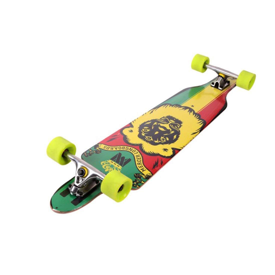 今季一番 铁锋区志诚机电商店 ストリートスケートボードアダルトストリートロングボードスケートボードプラスメイプルダブルパネルエクストリームスポーツ (色 (色 : オレンジ) B07R6ZTYLC B07R6ZTYLC オレンジ) オレンジ, エルラガルデン:b610e9df --- 4x4.lt