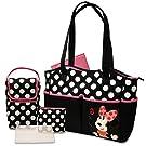 Disney 5 in 1 Diaper Tote Bag Set, Minnie