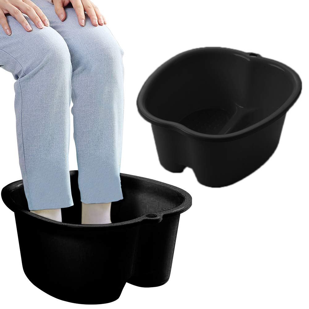 Foot Soaking Bath Basin, Large Size Feet Massager Tub, At Home Spa Pedicure Treatment