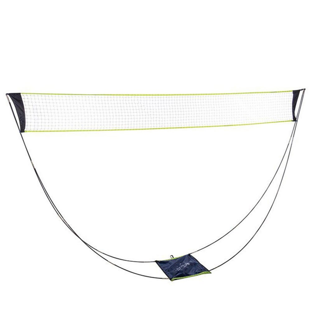 Portable Removable Volleyball Badminton Net Set With Stand Carrying Bag for Indoor Outdoor Sport Fastdisk