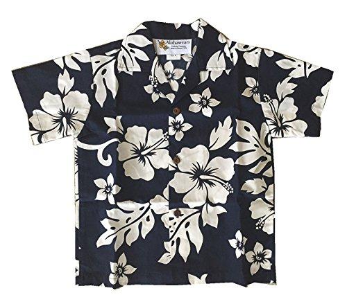 Navy Aloha Shirt - 5