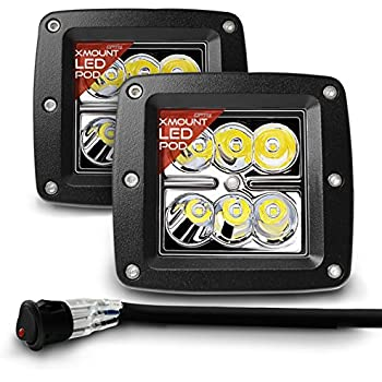 51 pj7o pPL._SL500_AC_SS350_ amazon com opt7 cree led pod with wiring harness (2 pcs 18w led pod wiring harness at mifinder.co