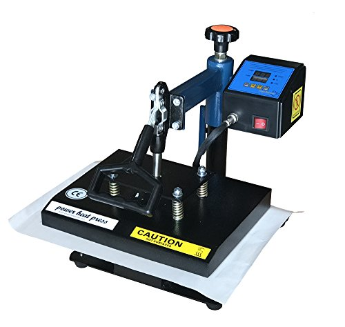 Fancierstudio Power Heat Press Swing Away Heat Press T Shirt Press 9'x12' Heat Press Rhinestone Heat Press 9x12 Blue Black