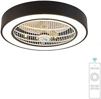 JY.YN ventilador de techo luz de techo creativo techo de luz LED ...