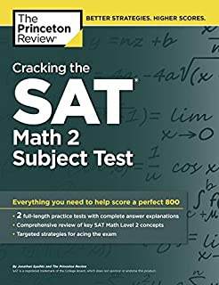 What specific subjects within math & english should I study for the SATs?