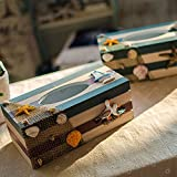 New Product New Product!Mediterranean style Wooden Tissue Boxes, organizador paper towels ornaments napkin holder home decor carfts seabird