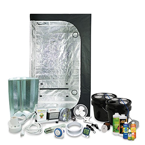 Complete 2 x 3 (36u2033x22u2033x63u2033) Gro.  sc 1 st  Pot Farmers Mart & Grow Tent Packages u0026 Grow Kit for Growing Cannabis. 420 Grow Kits.
