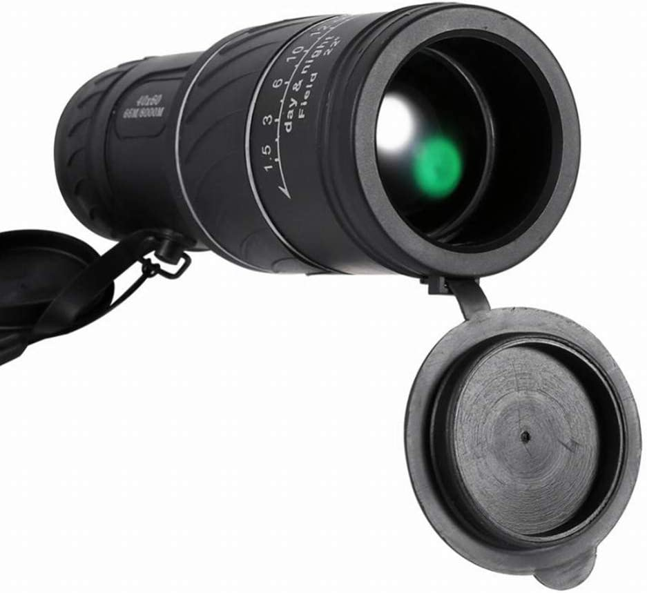 RONSHIN 40x60 Monocular Telescope High Power HD Low-Light Night Vision Telescope