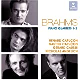 Brahms: Piano Quartets 1-3
