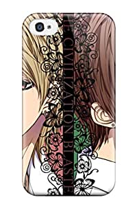 Hot 4856962K86591942 Cute Appearance Cover/tpu Zetsuen No Tempest Case For Iphone 4/4s