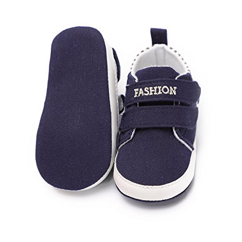 Pictures of Kuner Infant Baby Boys and Girls Canvas Blue 3